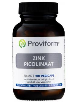 Zink picolinaat 30 mg