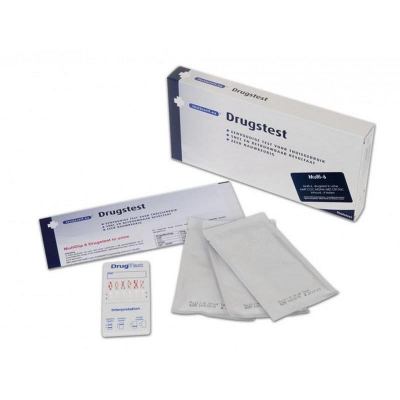 Multidrugtest 6 urine