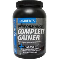 Weight gainer vanille whey proteine
