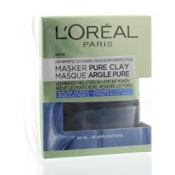 Pure clay masker anti-imperfecties