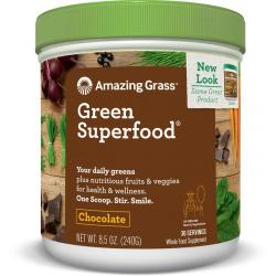 Chocolate green superfood