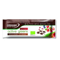 Bar active greens chocolade c protein