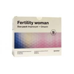 Fertility woman duo 2 x 60 capsules
