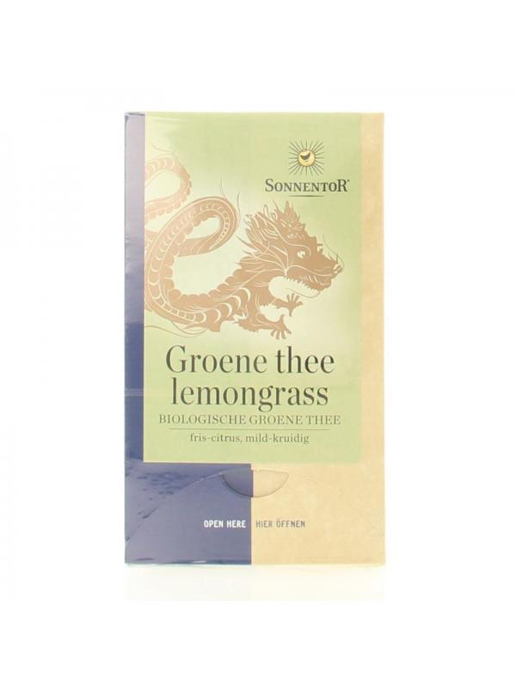 Groene thee lemongrass bio