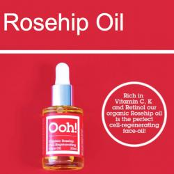Rosehip face oil vegan
