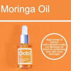 Moringa face oil vegan