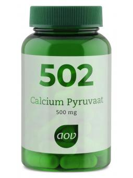502 calcium pyruvaat 500 mg