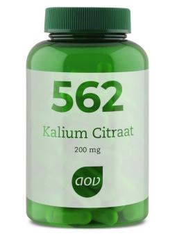 562 Kalium citraat 200 mg