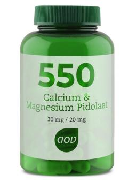 550 Calcium magnesium pidolaat
