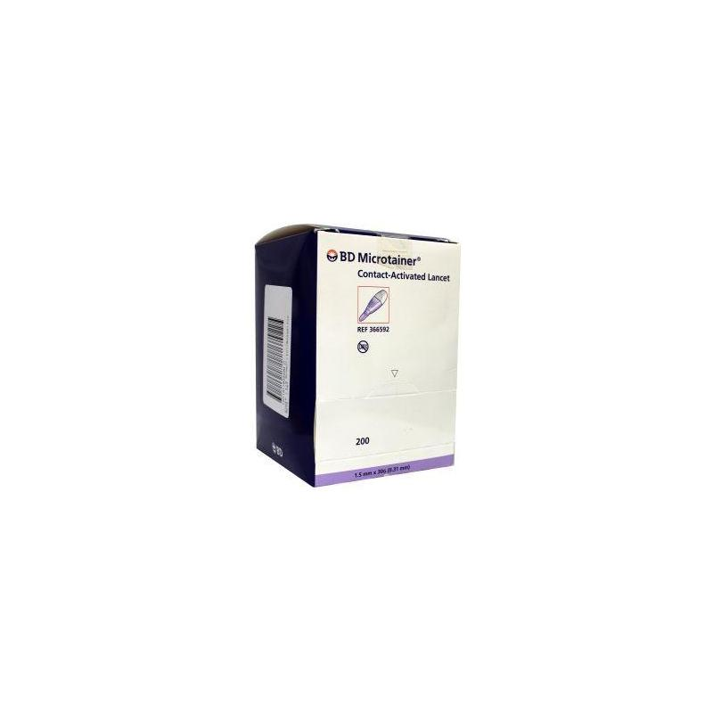 Microtainer cal lancet 592