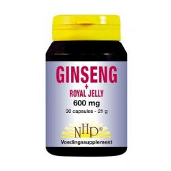 Ginseng royal jelly 600 mg