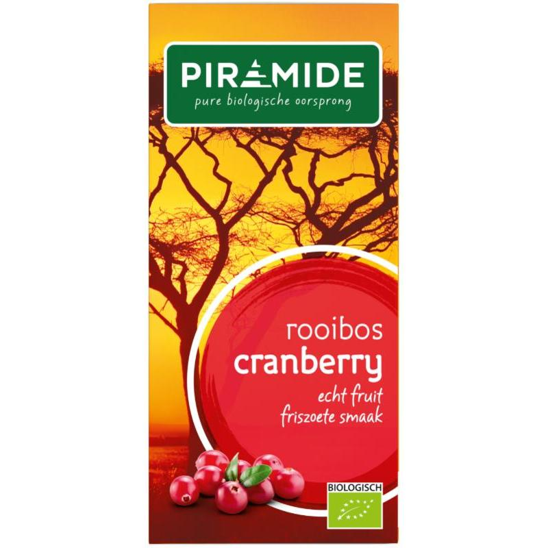 Cranberry rooibos bio thee