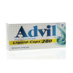 Advil reliva liquid caps 200mg