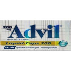 Advil liquid capsules 200