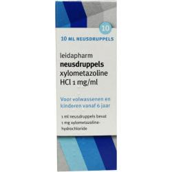 Xylometazoline HCI 1mg druppels