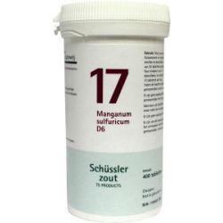 Manganum sulfuricum 17 D6 Schussler