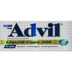 Advil liquid caps 200