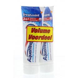 Tandpasta freshmint 75 ml duo