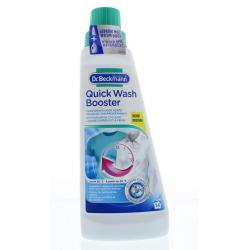 Quick wash booster