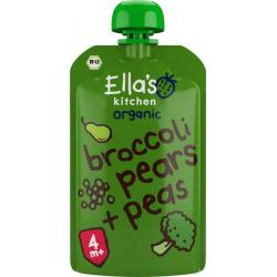 Broccoli pears and peas 4+...