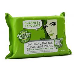 Face wipes C+ exfoliate