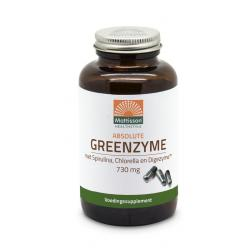 Greenzyme met Spirulina, Chlorella en Digezyme™