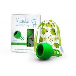 Menstruatie cup apple groen