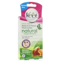 Veet cold wax natural gezicht