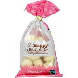 Chocolade paasei wit