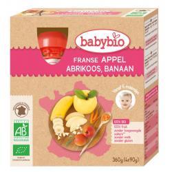 Appel abrikoos banaan 90 gram