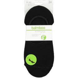Bamboe no show sokken zwart...