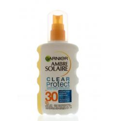 Ambre solaire clear protect SPF 30 spray